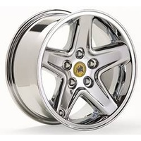 AEV Bridger Alloy Wheel - Chrome 5/5 16x8 x5