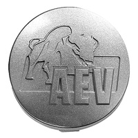 AEV Wheel Centre Cap -Silver Moulded