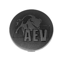 AEV Wheel Centre Cap - Black Moulded