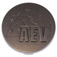 AEV Wheel Centre Cap - Argent Moulded