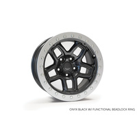 AEV JK Borah Bead Lock Wheel - Black 17x8.5