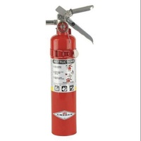 Fire Extinguisher 1.1kg (2.5lb) Red