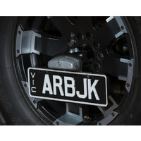 ARB Number Plate Kit