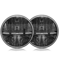 AVEC 7in Moon Series Sealed Beam LED Headlight Conversion