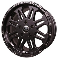 Bawarrion Coffi 17x8.5 5/127 Wheel - Black
