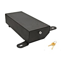 Bestop Underseat Lock Box for Wrangler JK, passenger side