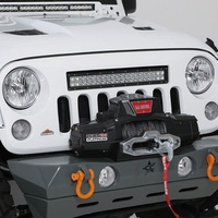JK Holcomb Lightbar Grille including 22-inch dual-row LED light bar