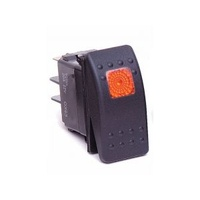 Rocker Switch Amber