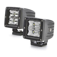 LED Driving Light 2X2 3W Spot