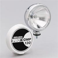 Pro Comp Driving Light 8 inch 130w Chrome