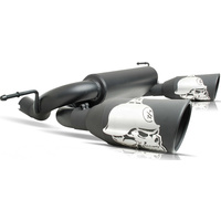 "Metal Mulisha Black Ceramic 5"" Dual Exhaust"