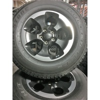 "Take Off Wheel and Tyre Set - 18"" Overland Option"