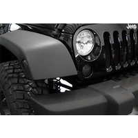 JK LED Front Turn Grill Signal Lens - Smoke