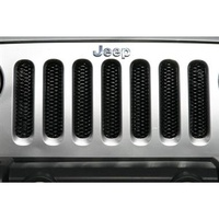 JK 3-D Grille all Black