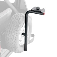Rugged Ridge Spare Tire Mounted 2 Bike Carrier