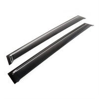 WK2 Window Visor Kit Black