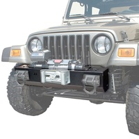 Rugged Ridge TJ Wrangler XHD Winch Mount Front Bar (Center Section)