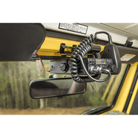 TJ Windshield Radio Mount