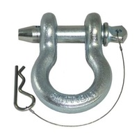 Smittybilt D-Ring Shackle 4.75T with Zinc Finish
