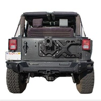 Smittybilt JK Pivot Heavy-Duty Tyre Carrier