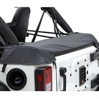 Smittybilt JK Soft Top Storage Boot 4d - Black Diamond