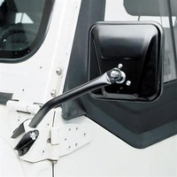 Smittybilt TJ/YJ/CJ Side Mirror - Black