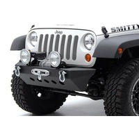 Smittybilt SRC Classic Rock Crawler Front Bumper with Winch Plate and D-ring Mounts