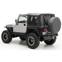 Smittybilt TJ Replacement top w/tint windows Bk Dia