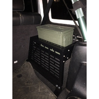 JK Driver Side Storage Rack