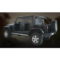Suntop JK 4D Cargo Top Black Diamond