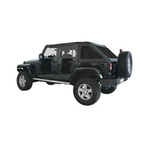Suntop JK 4D Fastback Top Black Diamond