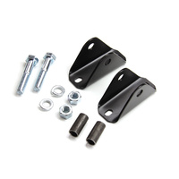 TJ/XJ Front Lower Shock Bar Pin Eliminator Kit