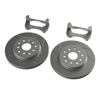 JK Front Performance Big Slotted Rotor Kit