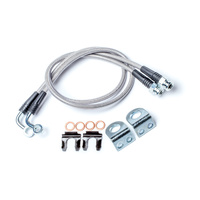 JK / TJ Front Brake Line Kit - 26inch