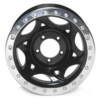 Bead Lock Alloy - Black 5/127 17x8.5