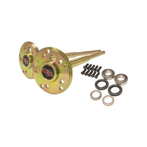 JK D44 Chromoly Rear Axle Kit 32 Spline