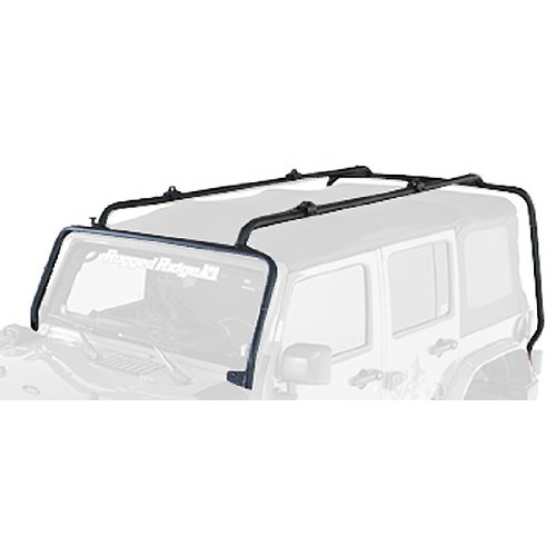 Rugged Ridge JK Wrangler 4Door Sherpa Roof Rack System