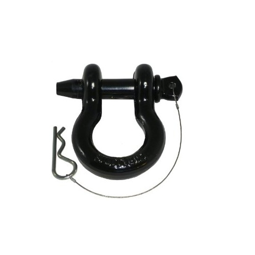Smittybilt D-Ring Shackle 4.75T with Black Finish