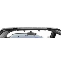 JK Windshield Header Black