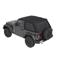 Bestop JL Trektop 2DR Soft Top Black Diamond