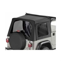 TJ Half Window Kit Dark Tint Black Diamond