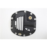 G2 Axle & Gear Brute Aluminum Differential Cover in Satin Black for Dana 30 Axle Assemblies
