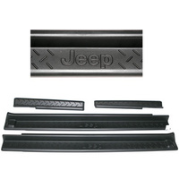 Mopar JK Entry Guard 4 dr Black