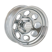 Series 99 Chrome Steel Wheel 5/127 16x8 12P x5