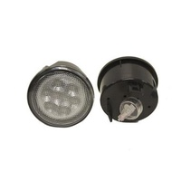 JK LED Front Turn Grill Signal Lens - Clear