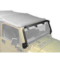 TJ Windshield Light Bar Mount