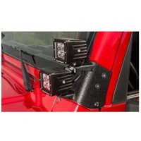 TJ Windshield Dual Light Mount
