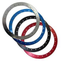 "Replacement Lock Ring 17"" - Anodized Red"