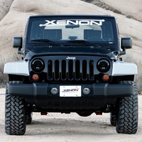 Xenon JK Wrangler Step Down Fender Flares 2 Door