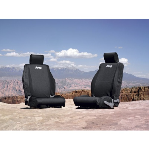 Jeep JK Seat Cover Front Black